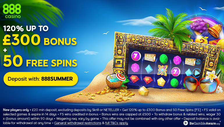 888casino Sparkles with Summer Sizzler for UK Players