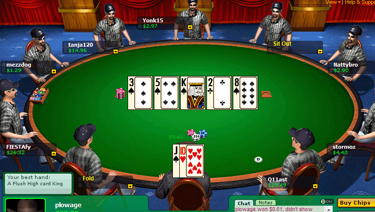 888 Poker Offers £5 Free Playing Money