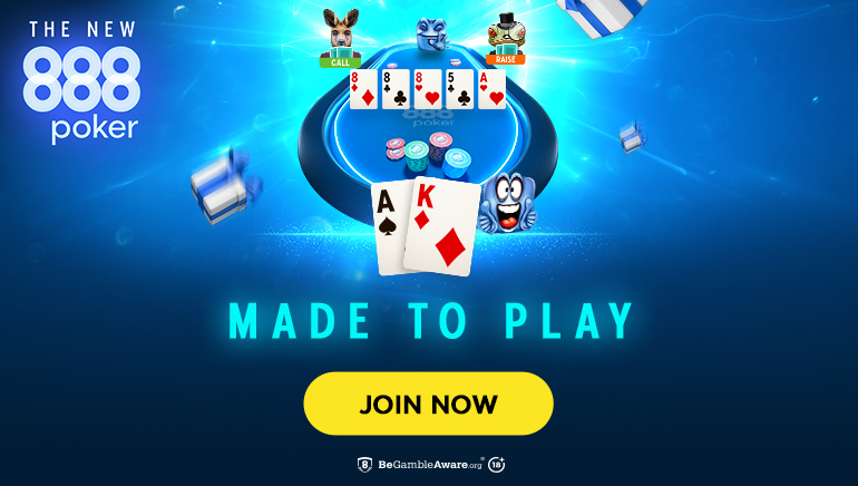 888poker Launches Fresh Platform Powered by New Technologies