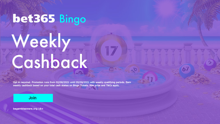 bet365 Bingo Goes All Out this August
