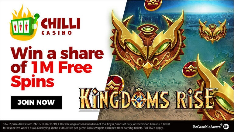 One Million Spins up for Grabs at Chilli Casino
