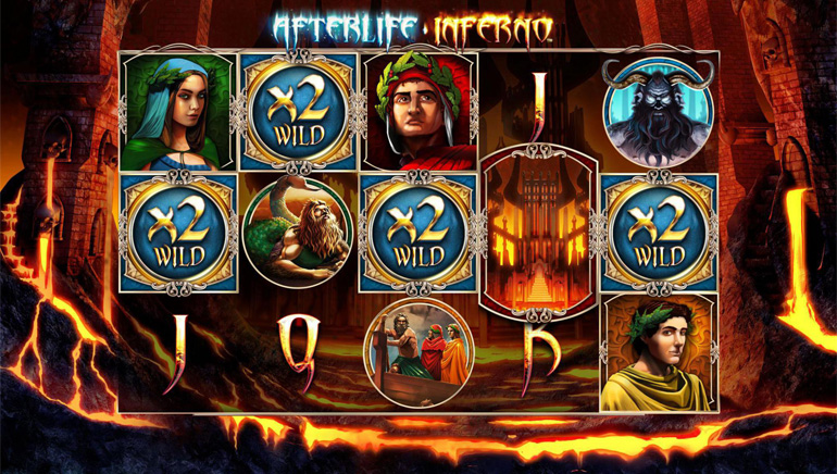 Afterlife Inferno Comes to Leander Games Casinos this Month
