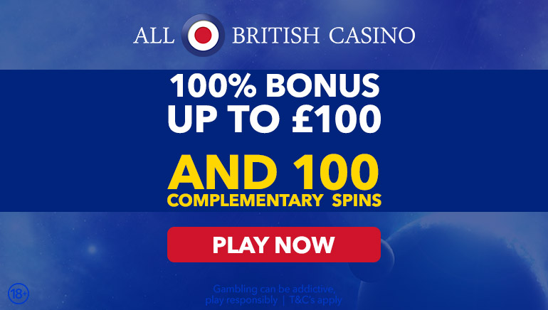Get Good with the All British Casino Welcome Offer