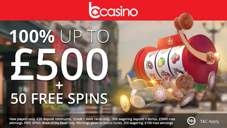 bCasino Goes Big with Latest Welcome Offer