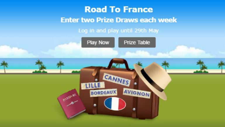 Win Road to France Prizes at bet365 Bingo