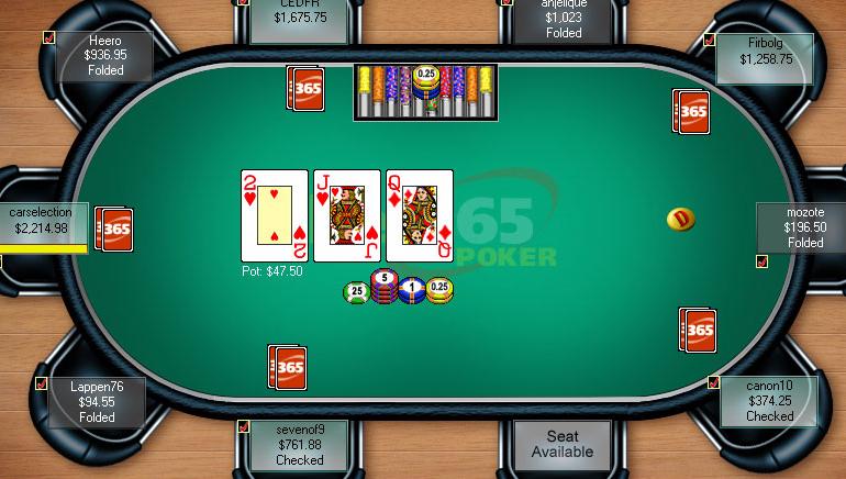 Sprint to Bet365 Hold'em