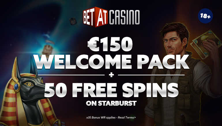 €150 + 50 Free Spins at BETAT Casino