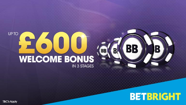 Up To £600 In Bonuses To Claim At BetBright Casino