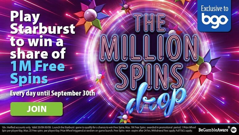 A Massive Free Spins Giveaway Begins at BGO Casino