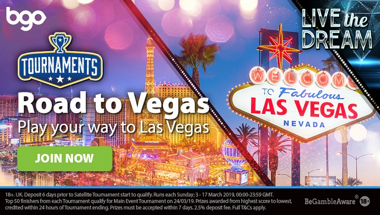 Hit the Road to Vegas with bgo Casino