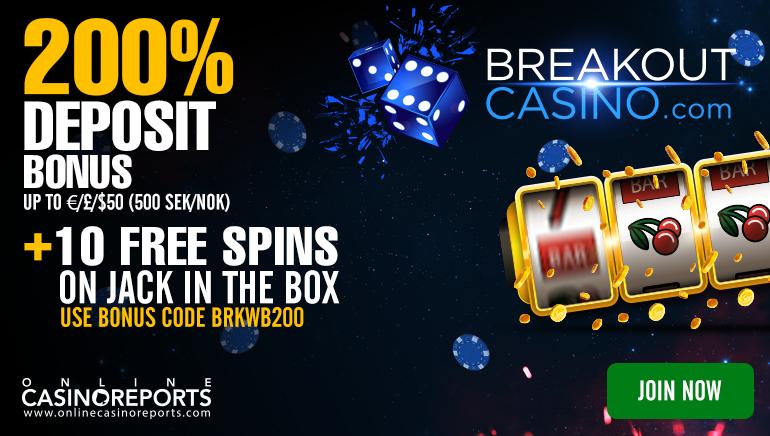 Break Free with Breakout Casino's No Deposit Deal