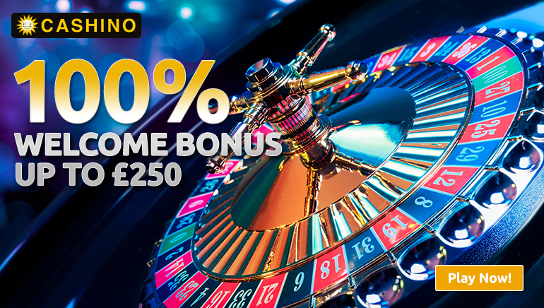 Enjoy a Very Warm Welcome at Cashino Casino
