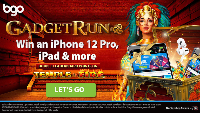 Amazing Prizes up For Grabs with bgo Casino's Gadget Run