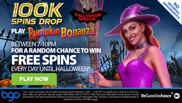 BGO Casino Gets Ready for Halloween