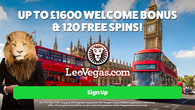 Warm Welcome for UK Players at LeoVegas Casino