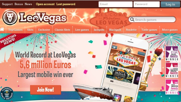 LeoVegas Casino Enters UK with Updated Welcome Bonus