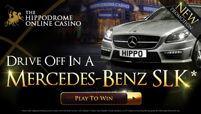 Win a Mercedes-Benz SLK Sports Car at Hippodrome Casino