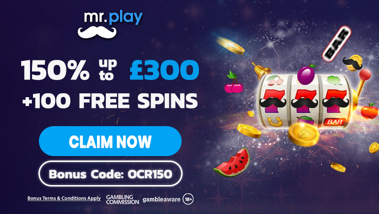 Pick Up A Bumper Bonus At mr.play Casino