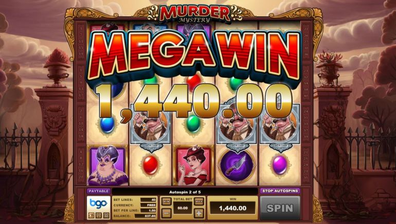 Murder Mystery – Exclusive New Slot Game Hits BGO