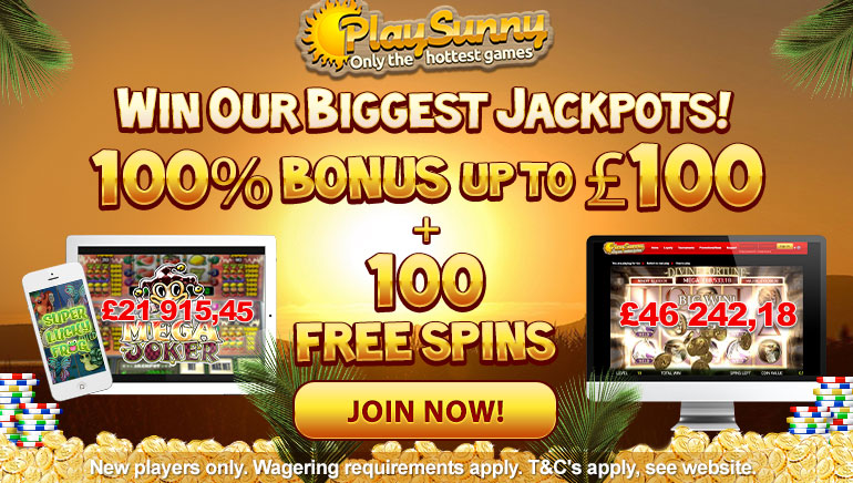 New Players Get a Warm Welcome at PlaySunny Casino