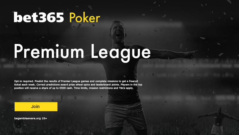 bet365 Poker Premier League 2021: Check Out What's on Offer