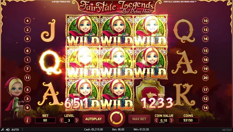 New Fairytale Legends Slot by NetEnt Available at Karamba Casino