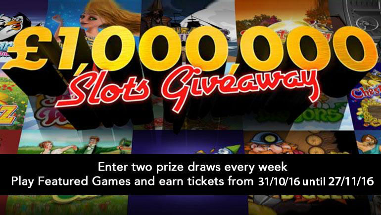 Win a Fortune with bet365's £1,000,000 Slots Giveaway This November