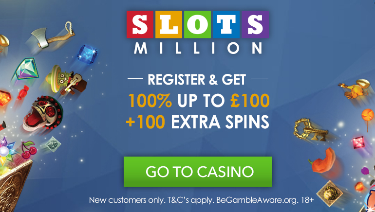 Start Big with SlotsMillion Casino Welcome Bonus