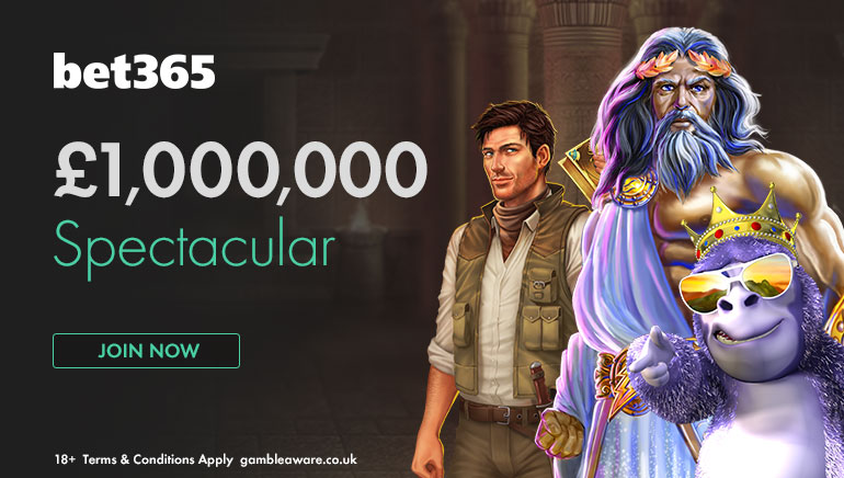 Win Huge Prizes in the bet365 £1m Spectacular this May