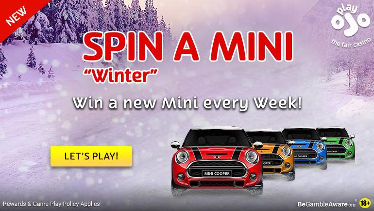 Win a New Car in PlayOJO Casino's Spin a Mini Event