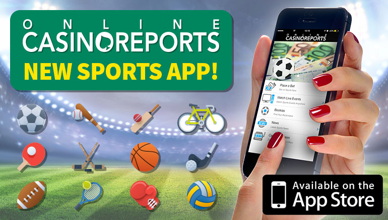 Online Casino Reports Releases Sports Betting App for UK Punters