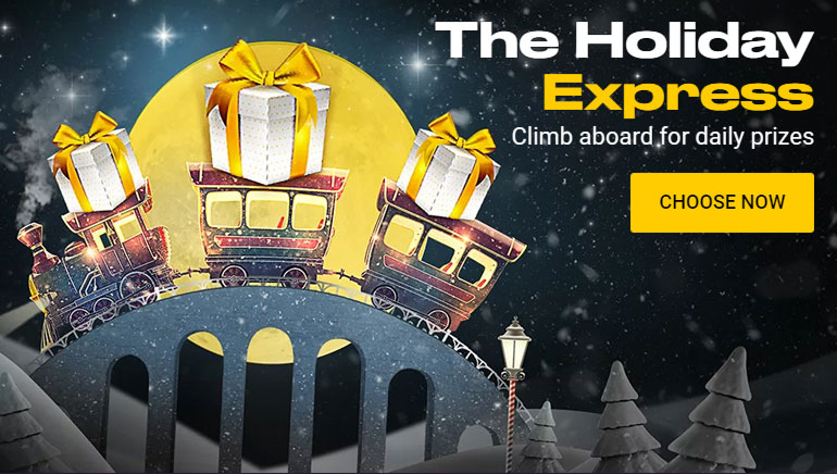 Board the Holiday Express at bwin Casino