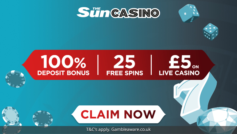 The Sun Casino's Fantastic New Welcome Offer