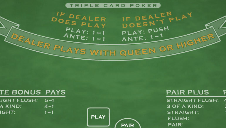 Triple Card Poker