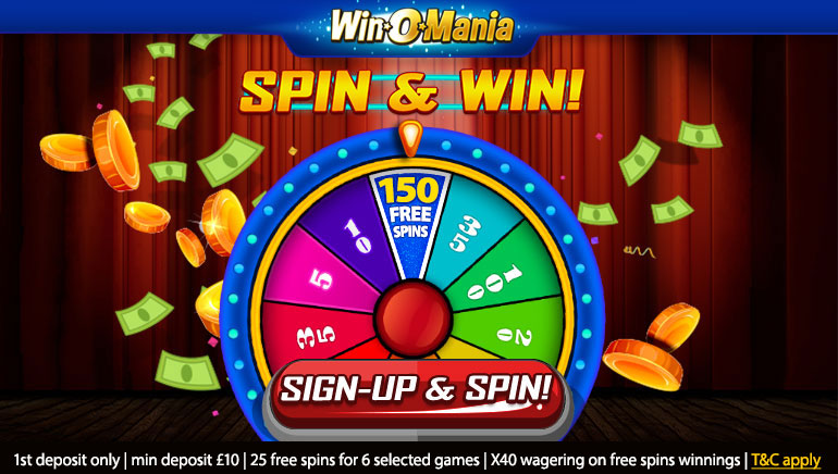 Winomania Introduces New UK Welcome Offer with 150 Free Spins