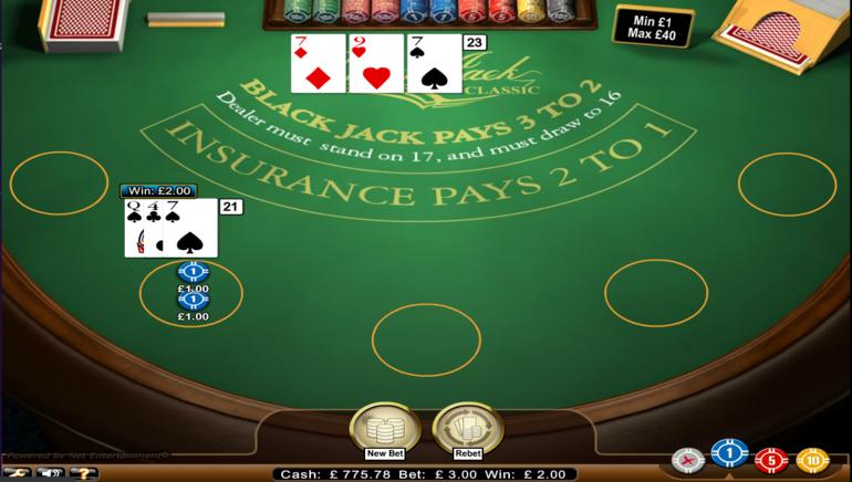 Best online gambling blackjack